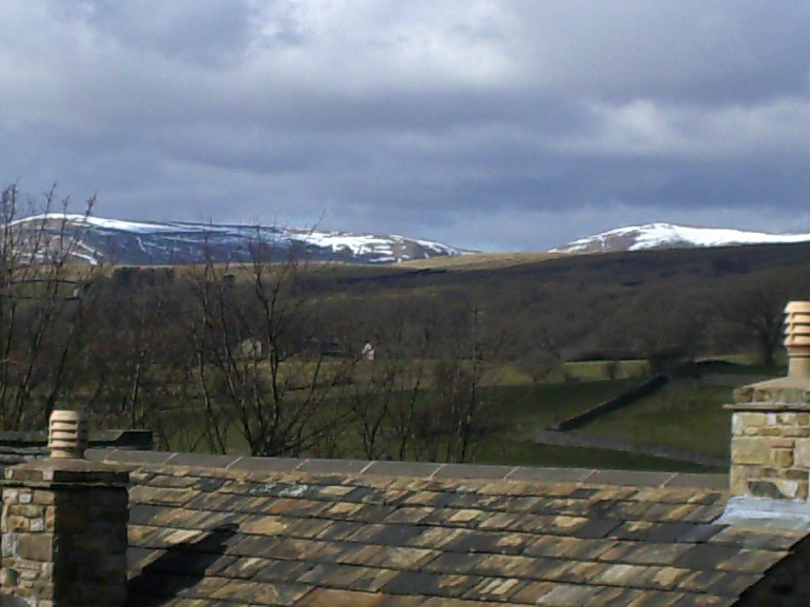 Snow on the Howgills